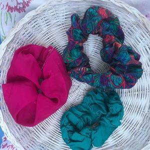 Vintage Scrunchie Set